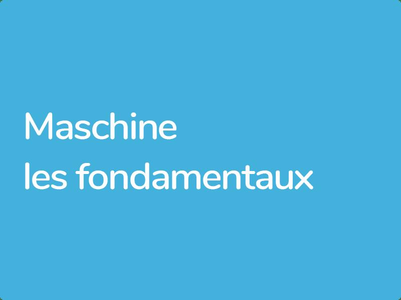 Formation Maschine Native Instruments conventionnées Afdas