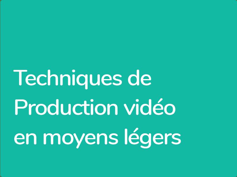 Réaliser du contenu vidéo de qualité professionnelle avec un équipement léger et économique