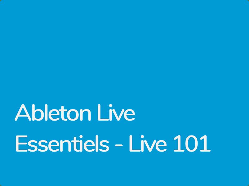 Formation Ableton Live 9 Essentiels Certifiée Ableton