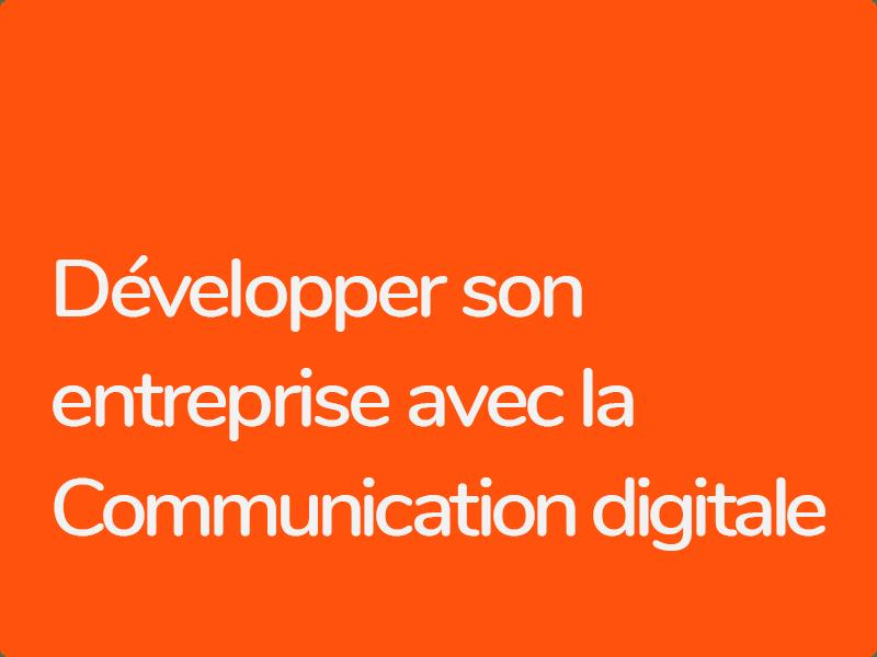 Formation Communication Print et Digital