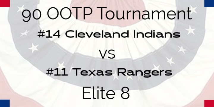 Out Of The Park 1990 Tournament – Elite 8 – Indians vs Rangers