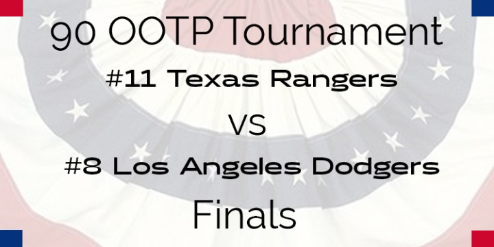 Out Of The Park 1990 Tournament – Finals – Rangers vs Dodgers