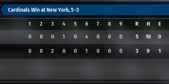 85 Mets Replay – OOTP 19 Replay – Game 2
