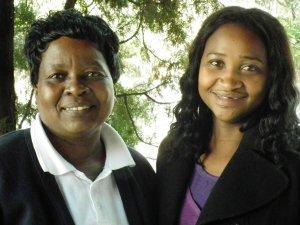 Elizabeth Maisela and Unathi Mnyanda