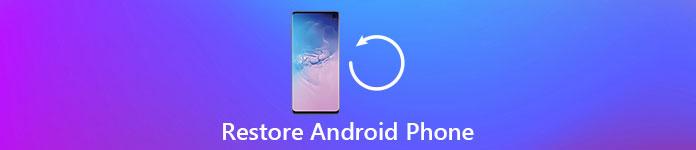 Восстановить телефон Android