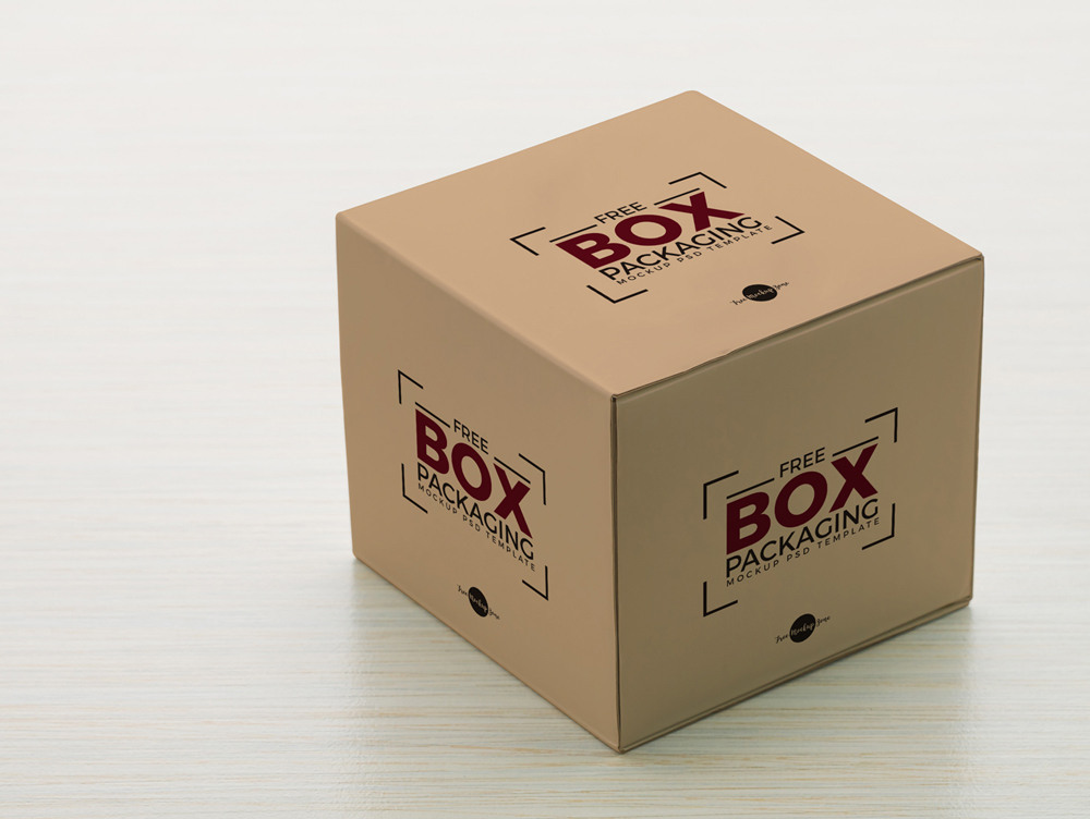Download Free Box Packaging PSD Mockup | Free Mockups, Best Free ...