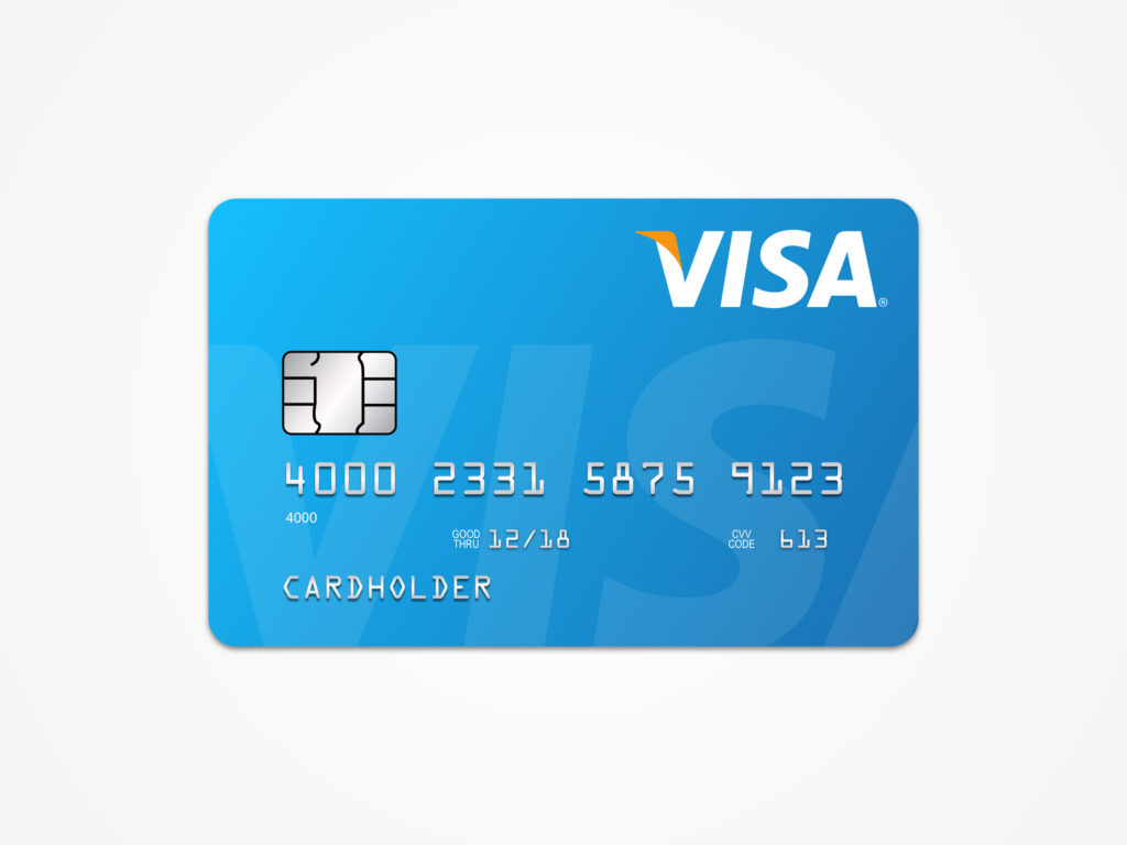Visa Card Template Free Sketch ApeMockups
