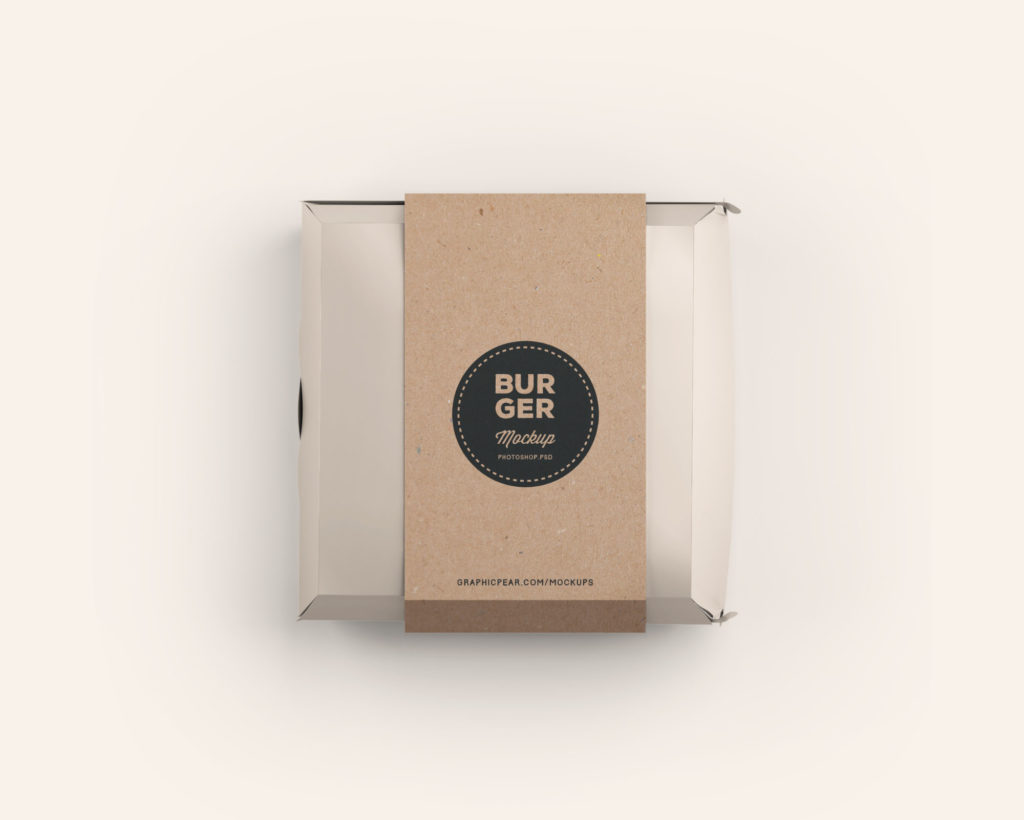 Download Burger Box Package Mockup | Free Mockups, Best Free PSD ...