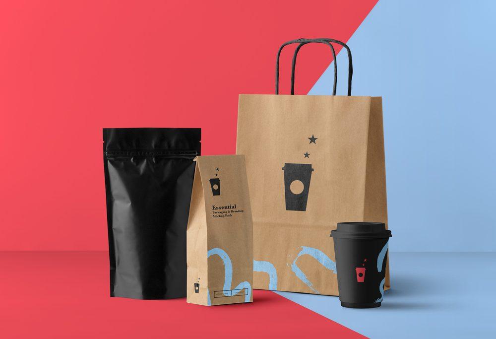 Download Free Food Packaging Mockup   Free Mockups, Best Free PSD ...