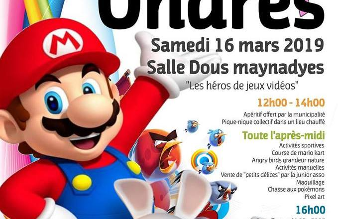 Samedi 16 Mars c'est le carnaval à Ondres !