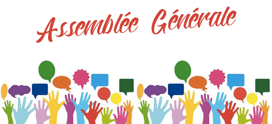 Assemblée générale le mercredi 15 septembre à 20h30