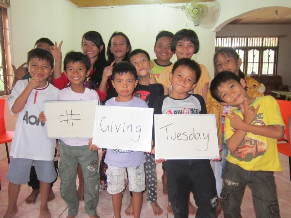 Giving Tuesday Sign