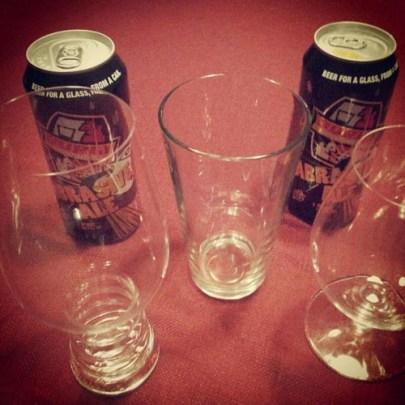 IPA glass test