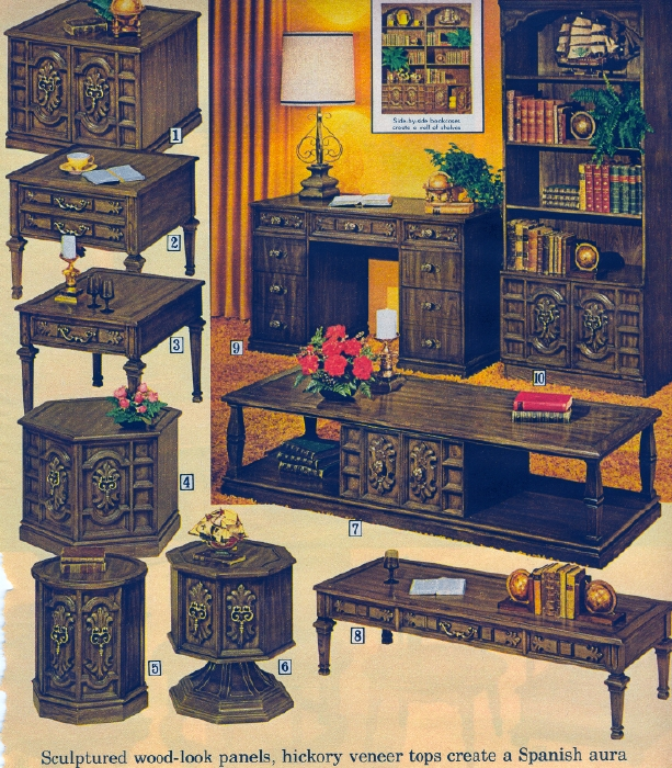 It Came From the 1971 Sears Catalog  Even More Furniture Even More Furniture