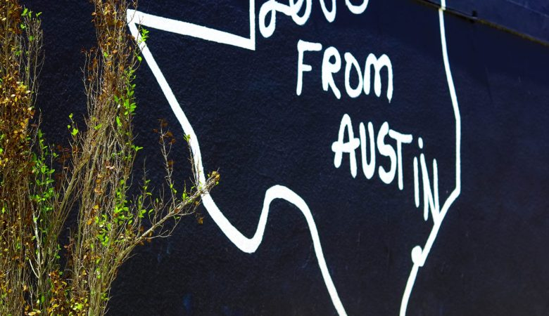 Love from Austin Mural
