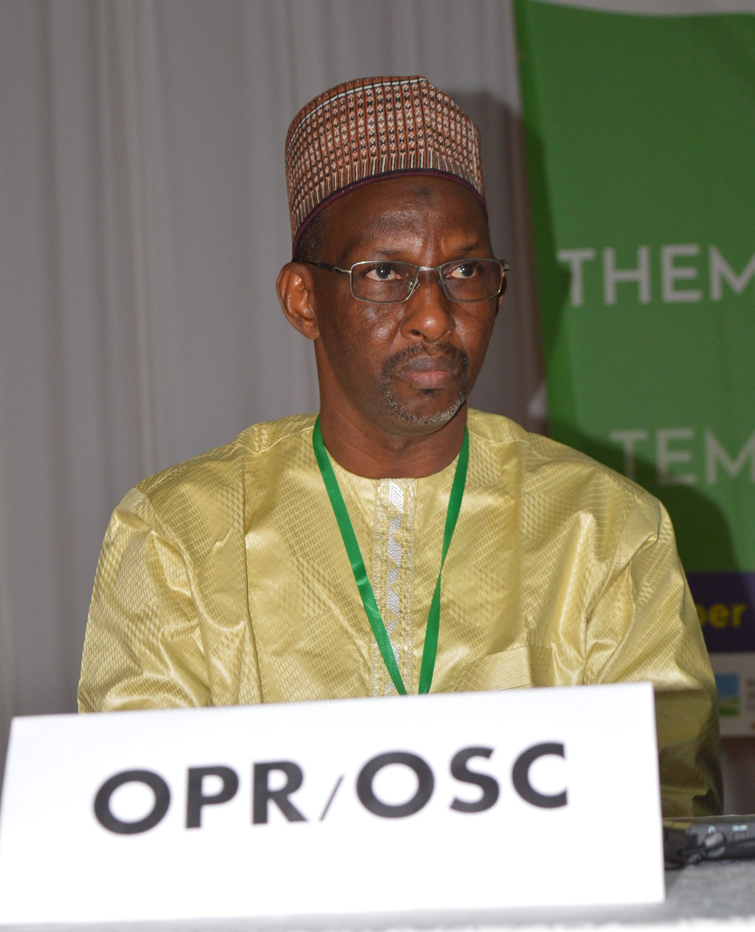 Mot du représentant des OP à la 7ème Convention du ROPPA :  Dr Ibrahima Aliou, Secrétaire Général de l'APESS