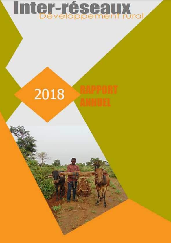 Rapportannuel 2018 de l'Inter-réseaux