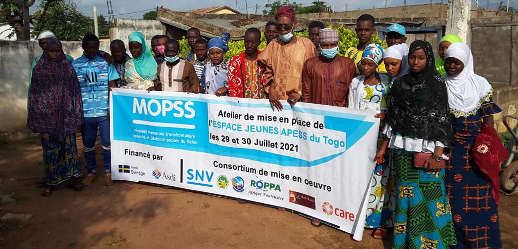 Un ESPACE DE CONCERTATION avec un Comité de Gestion pour les jeunes APESS du Togo