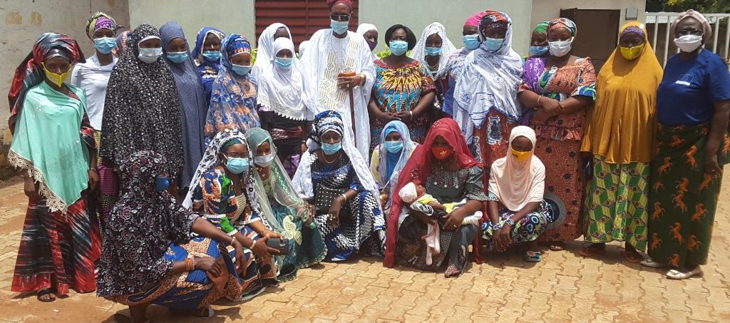 Un ESPACE DE CONCERTATION avec un Comité de Gestion pour les femmes APESS du Togo