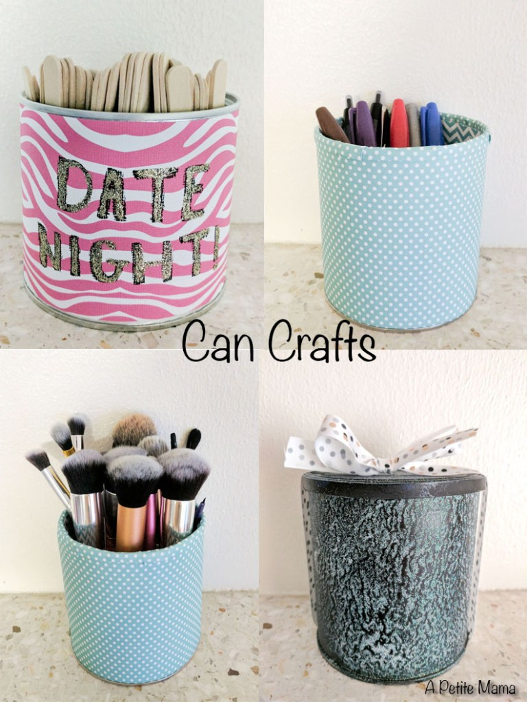 Cans Craft by A Petite Mama