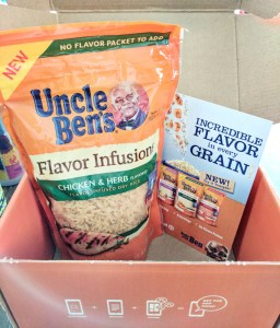 uncle ben's flavor infusion chicken & herb