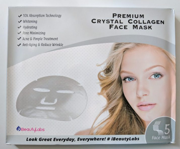 iBeautyLabs face mask