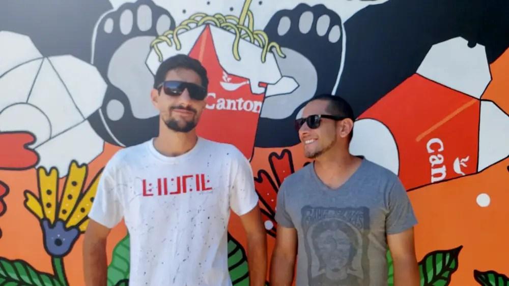 Restaurante Cantón se une a artista nacional para embellecer el paisaje urbano de Tibás
