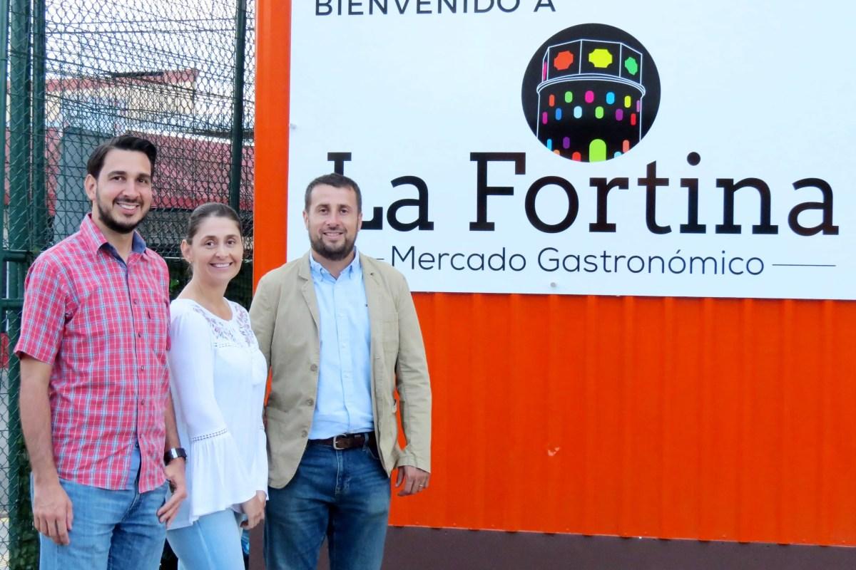 ¿Cómo se creó el mercado gastronómico La Fortina?