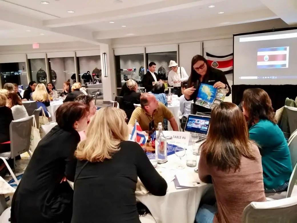 Empresarios ticos se reunieron con 200 agentes de turismo en EE.UU