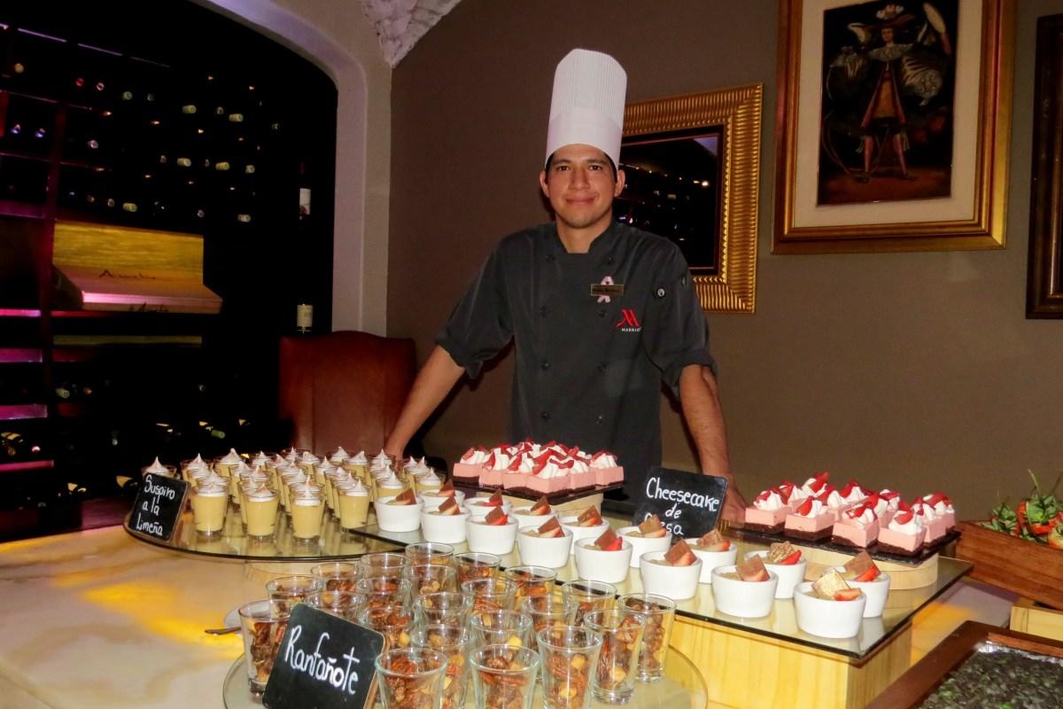 Nuevo chef dará sazón peruano a restaurante del Costa Rica Marriott