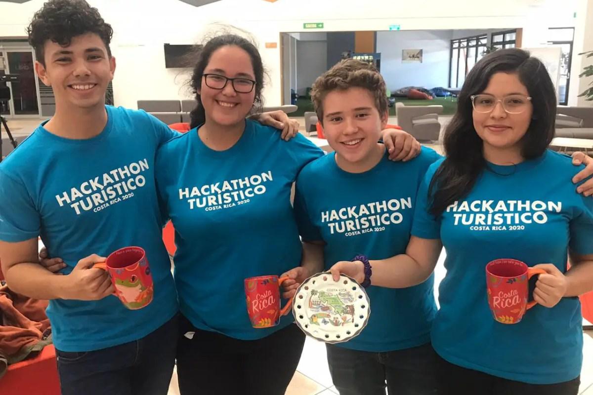 Equipo más joven triunfa y sorprende al ganar el Hackathon Turístico 2020
