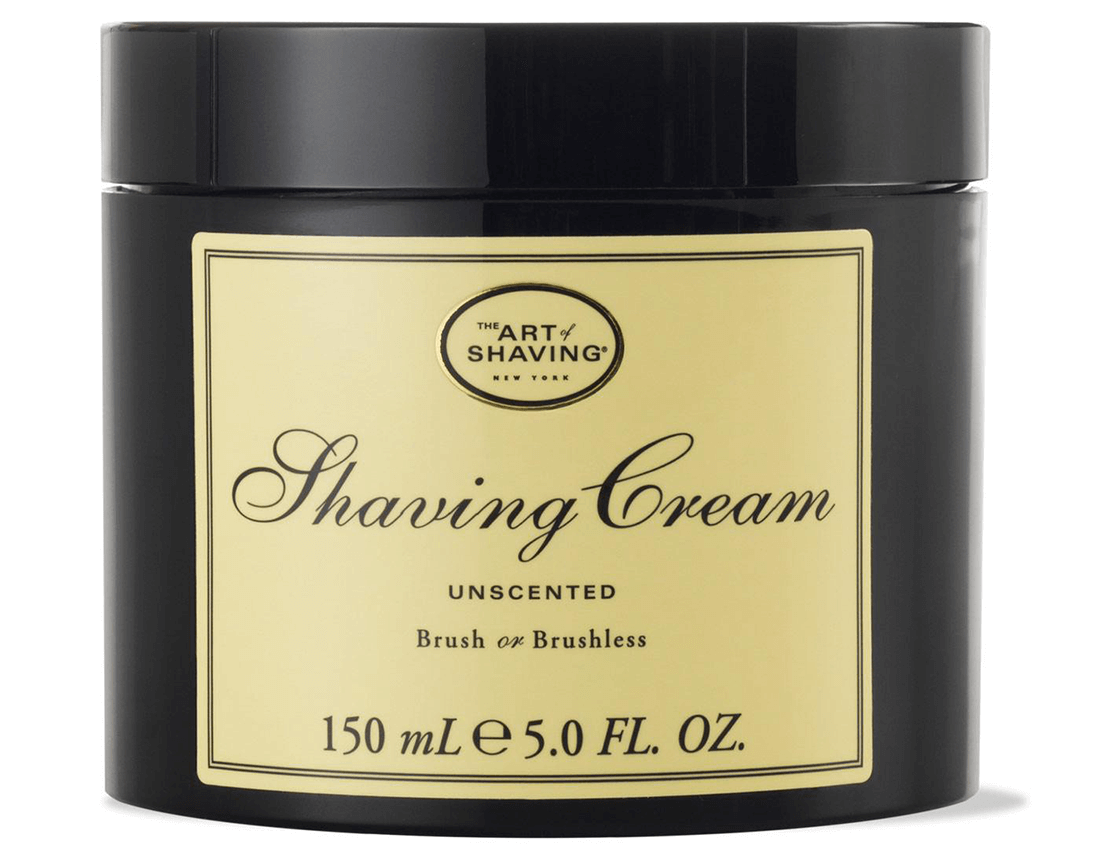 The best shaving cream for Sensitive Skin - The Art of Shaving Shaving Cream Unscented