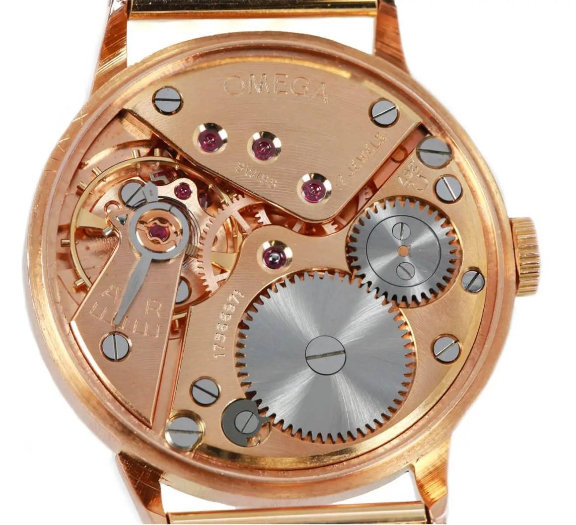 Vintage 18ct Gold Omega Watch - Ape to Gentleman