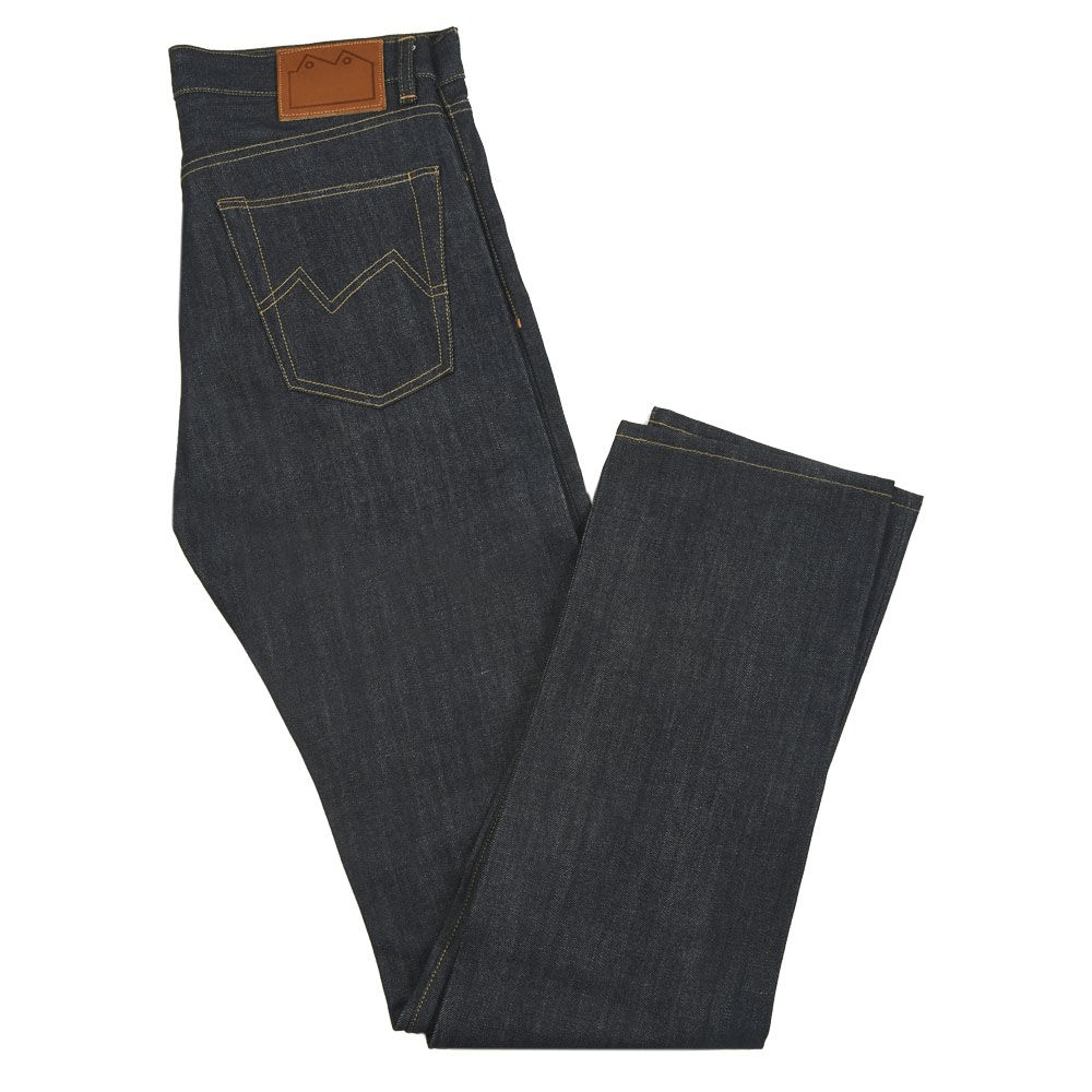 Blackhorse Lane E8 Slim Tapered Indigo Selvedge Jeans