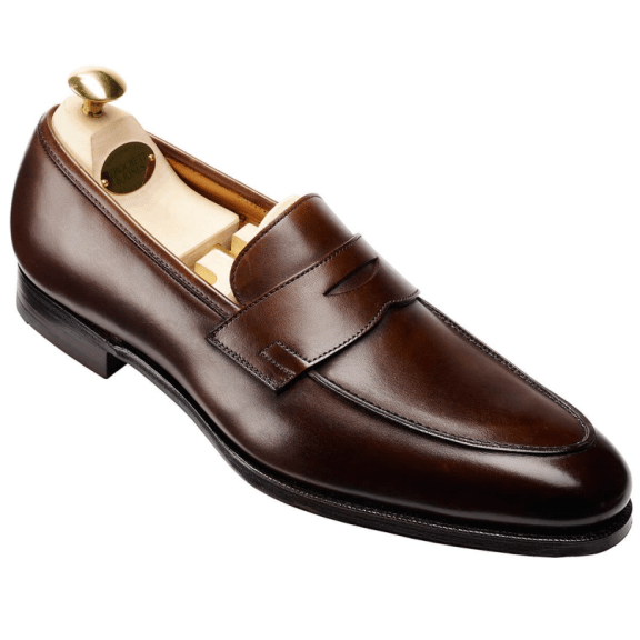 Crawford-Dark-Brown-Antique-Calf-Handgrade-Collection