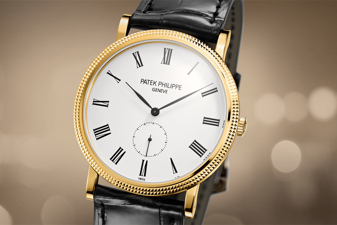 Men's Patek Philippe Calatrava watch in gold