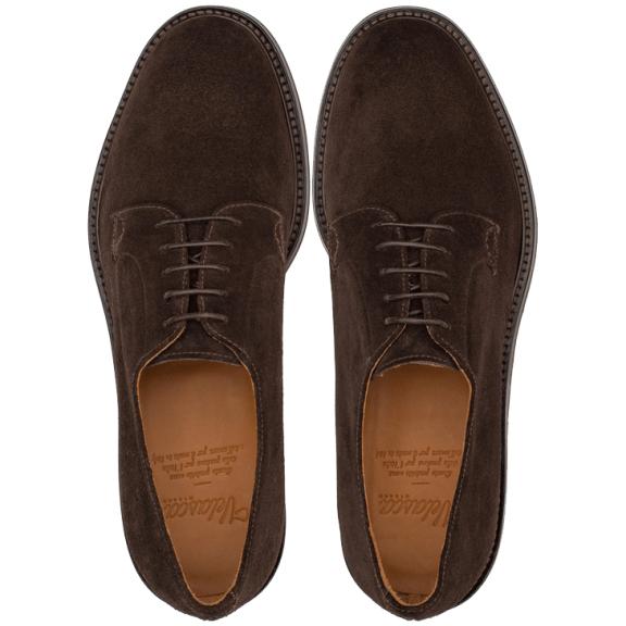 Velasca Urtulan Brown Suede Derby Shoes