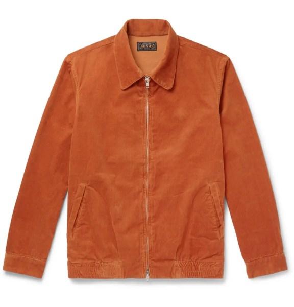 beams-jacket-orange