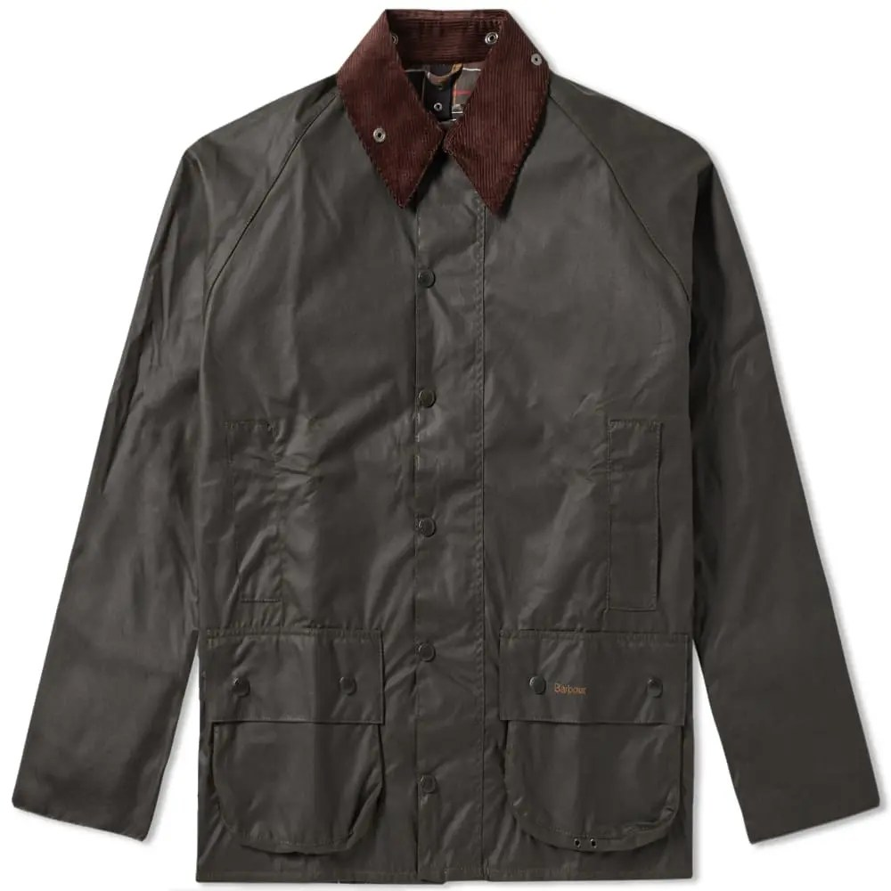 Barbour Classic Beaufort Wax Jacket in Olive