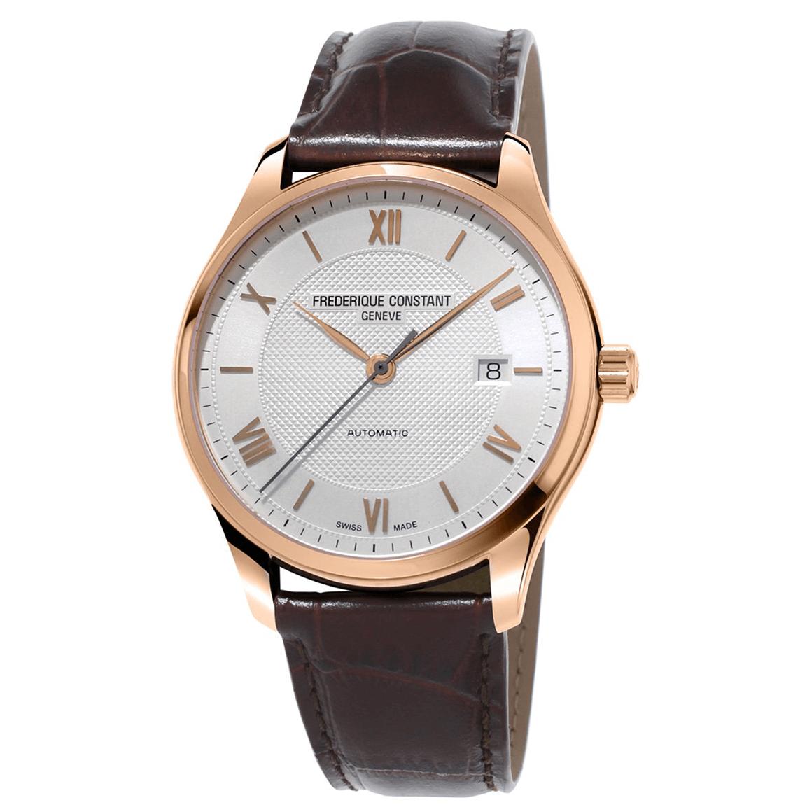 Frederique Constant Classics Index Automatic rose gold men's watch