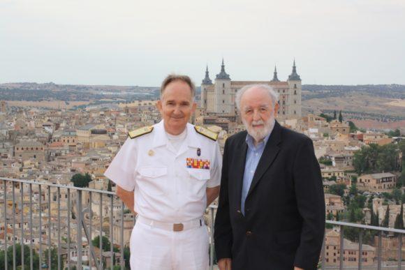 Almirante Juan Francisco Martínez Núñez y Diego Carcedo