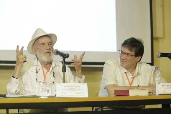 """Guillermo el l """"mago"""" Dávila y Jaime Abello"""