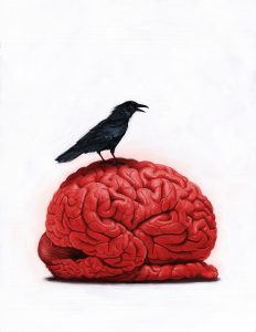 Brain Sick I by Robert Carter