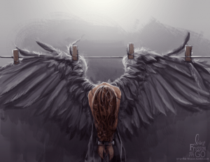 Fallen Angel by Sunny Ray