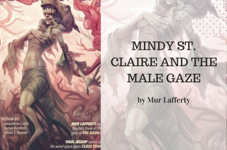 Mindy St. Claire and the Male Gaze (Or Lack Thereof)