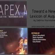 Toward a New Lexicon of Augury