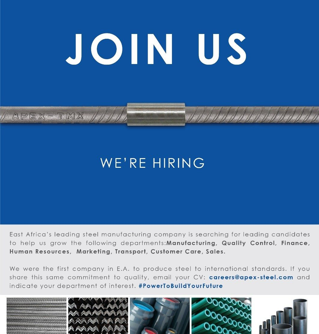 apex steel join us