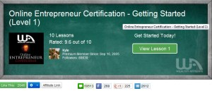 Wealthy-Affiliate -Online-Entrepreneur-Certification-Course