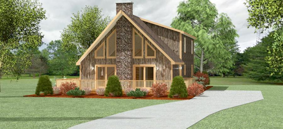 Chalet House Floor Plans   Apex Modular Homes of PA Clifton