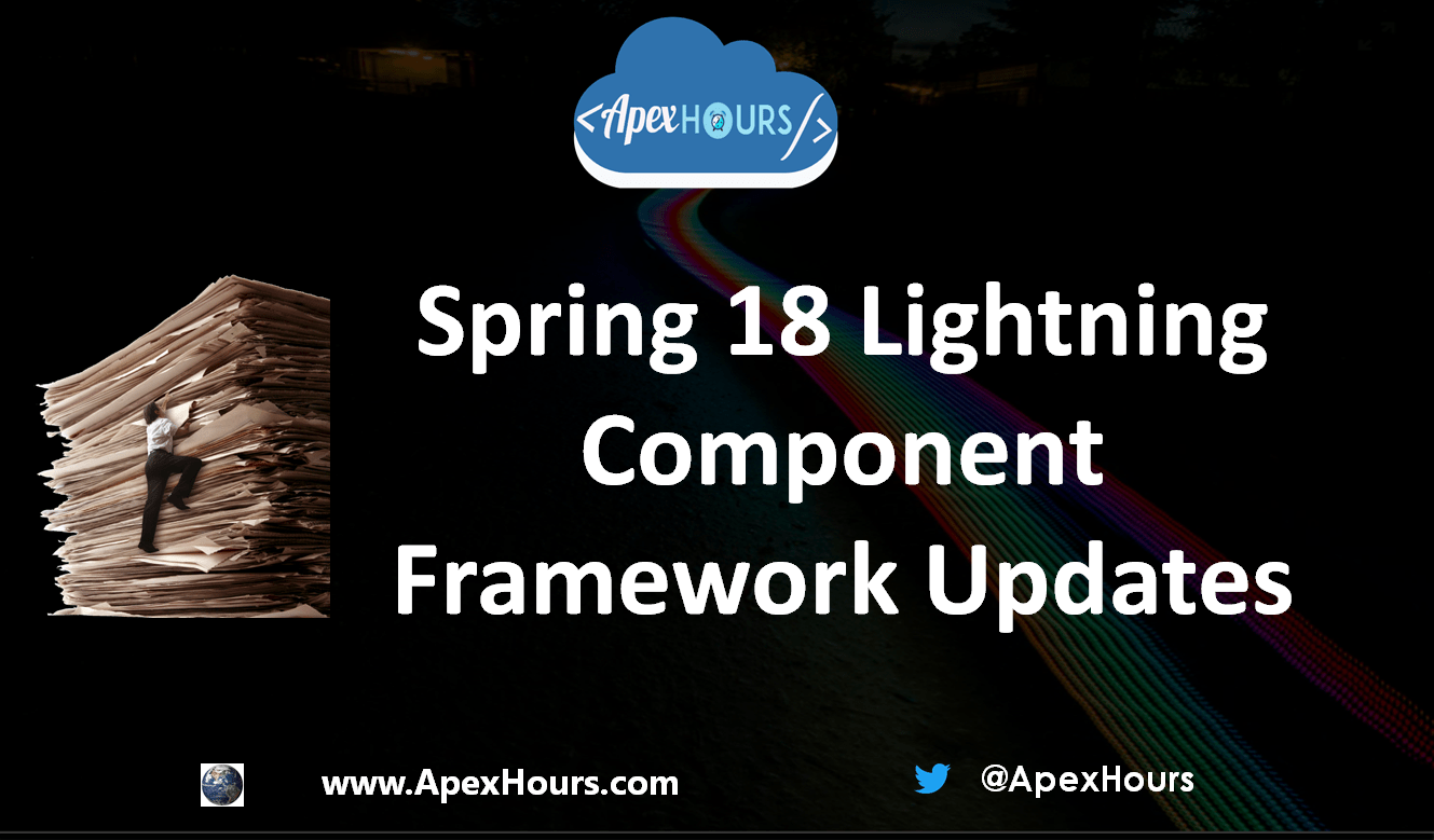 Lightning Component Framework Updates